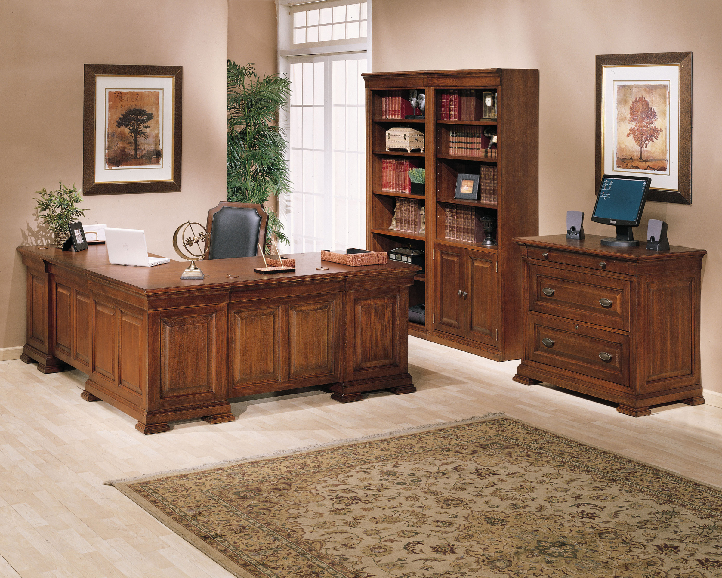 ... Winners Only Furniture. Home Office Set | L Shaped Desk