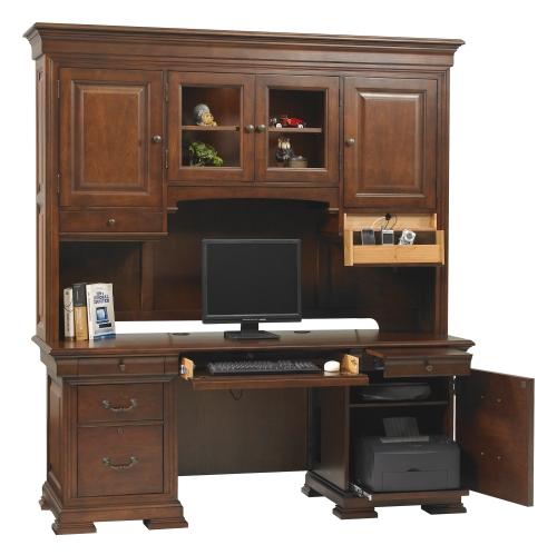 Credenza Desk | Hutch