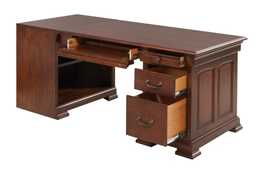 Winners only walnut office furniture guide to winners only furniture - Quality home office desk ...