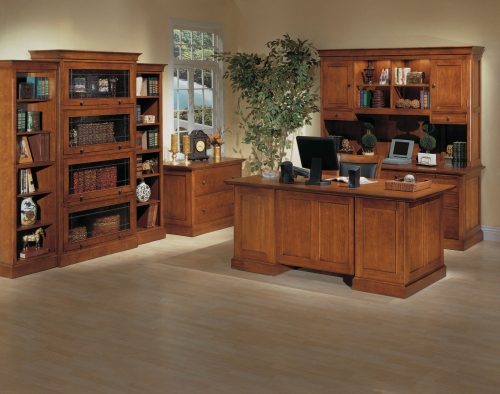 Office Set | Executive Desk | Library