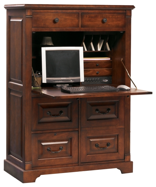 computer desk armoire | Guide to Winners Only Furniture