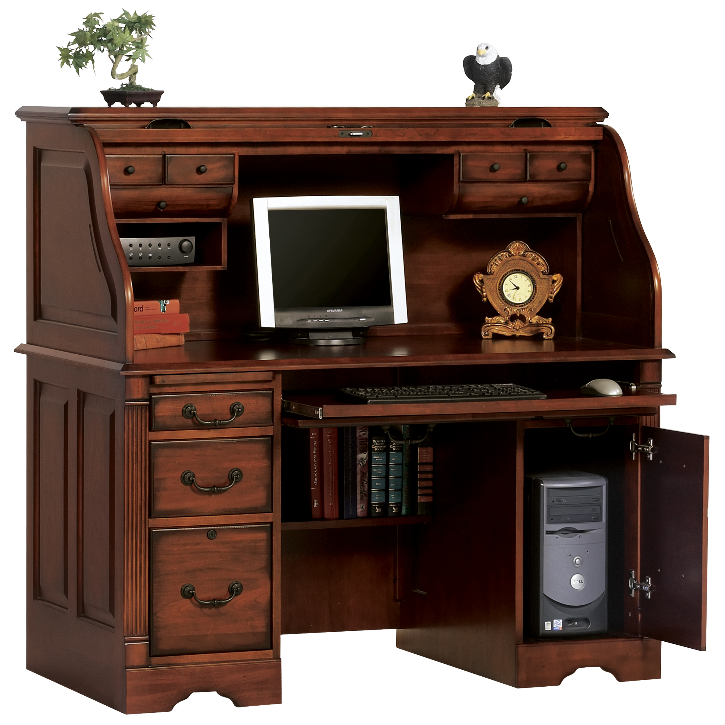 Winners Only Country Cherry Home Office Furniture Review Home Office Furniture Peninsula Desk
