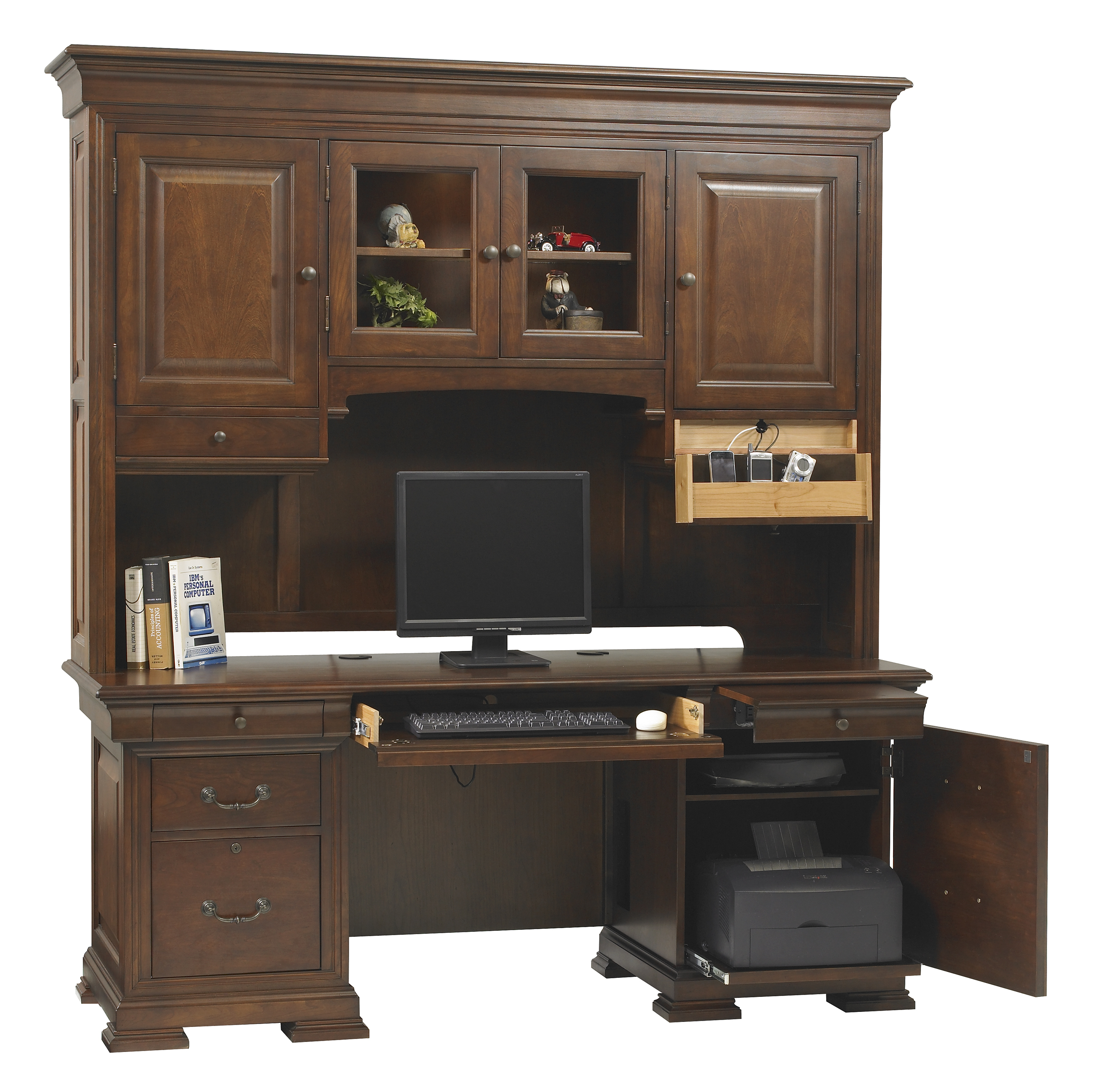 Plans For Computer Desk And Hutch Wooden Plans Diy Wood