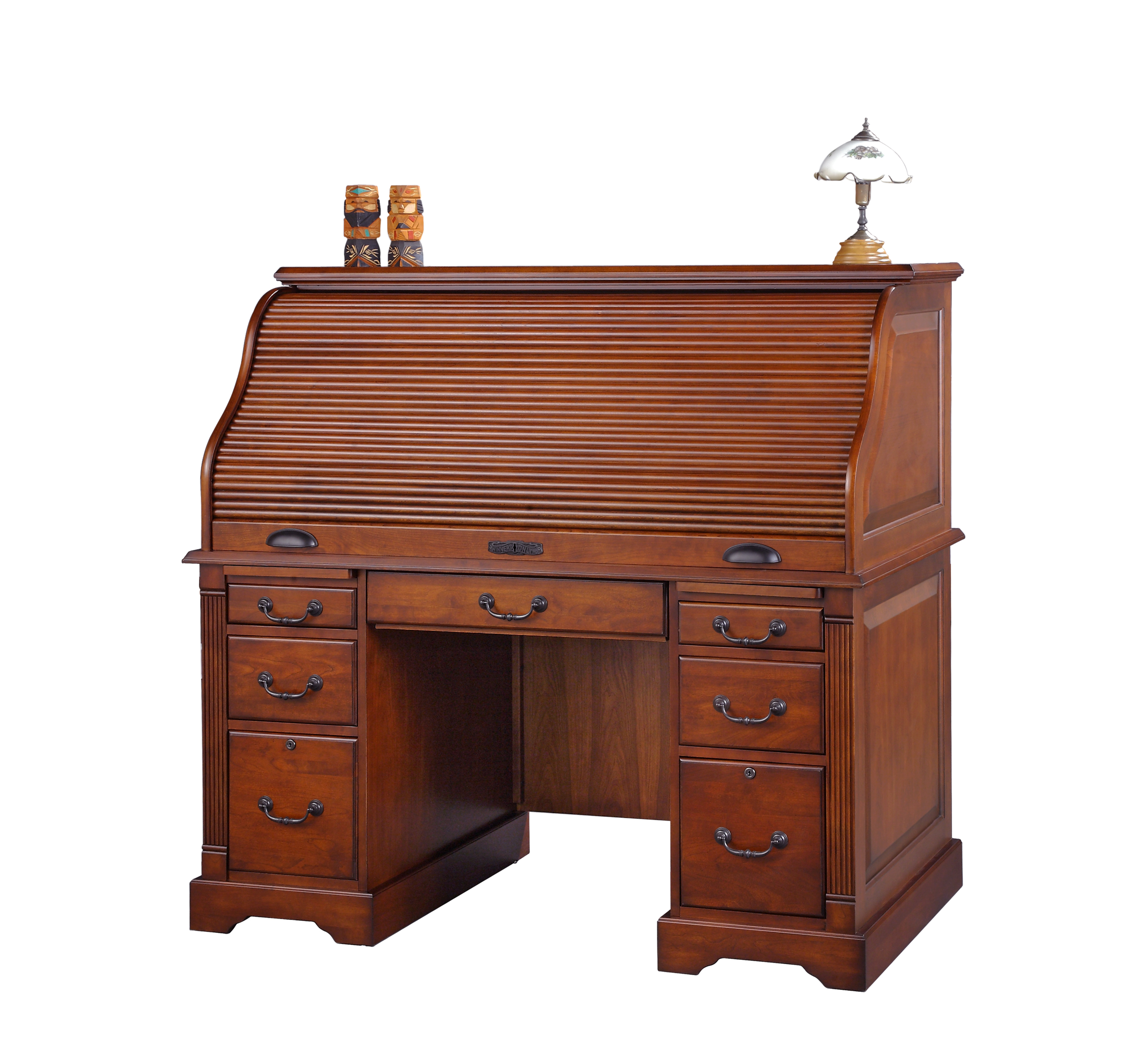 k157r roll top desk from winners only furniture - Winners Only Furniture